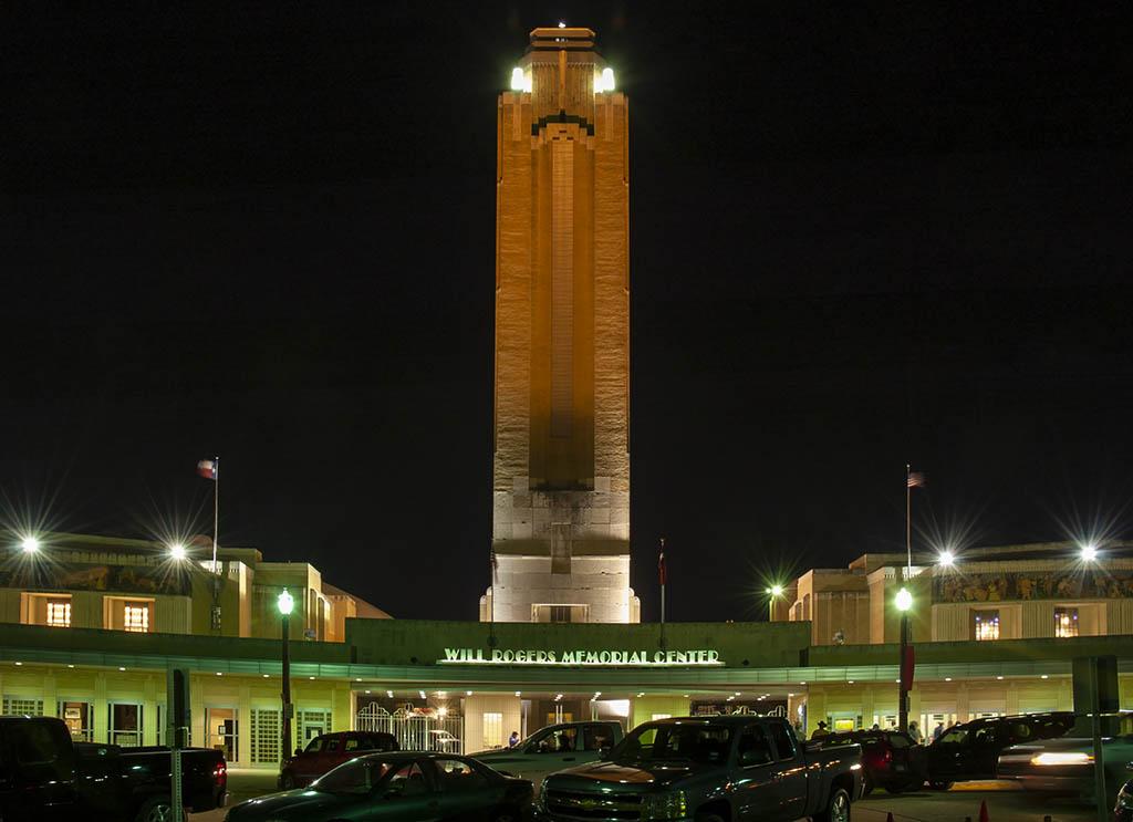 Will Rogers Auditorium Coliseum Amp Pioneer Tower