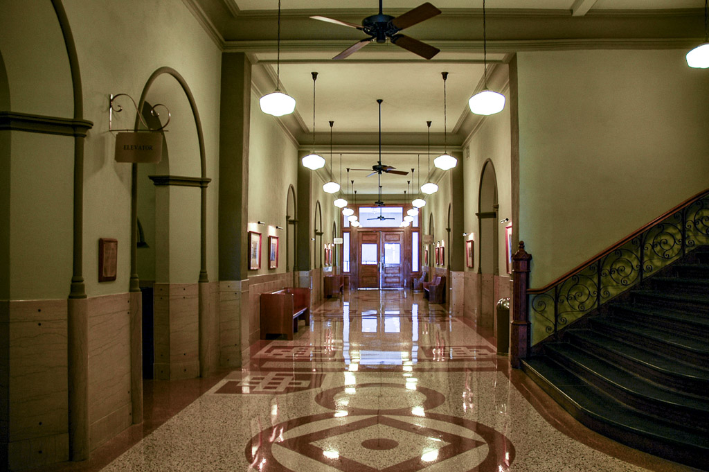 Tarrant County Courthouse Architecture In Downtown Fort