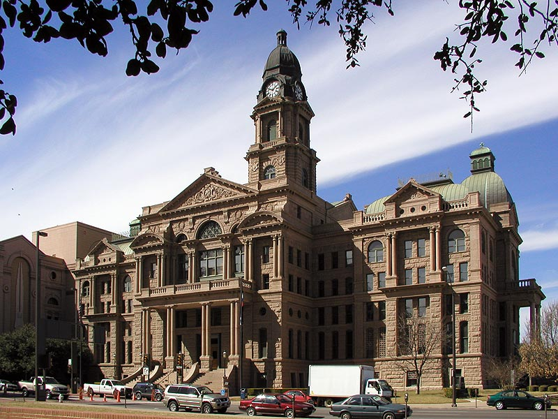 Tarrant County Courthouse - Architecture in Downtown Fort Worth