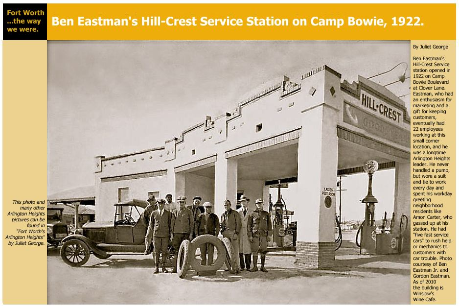 Painting of Odd-Shaped 1920s Gas Station City's Mobile ...