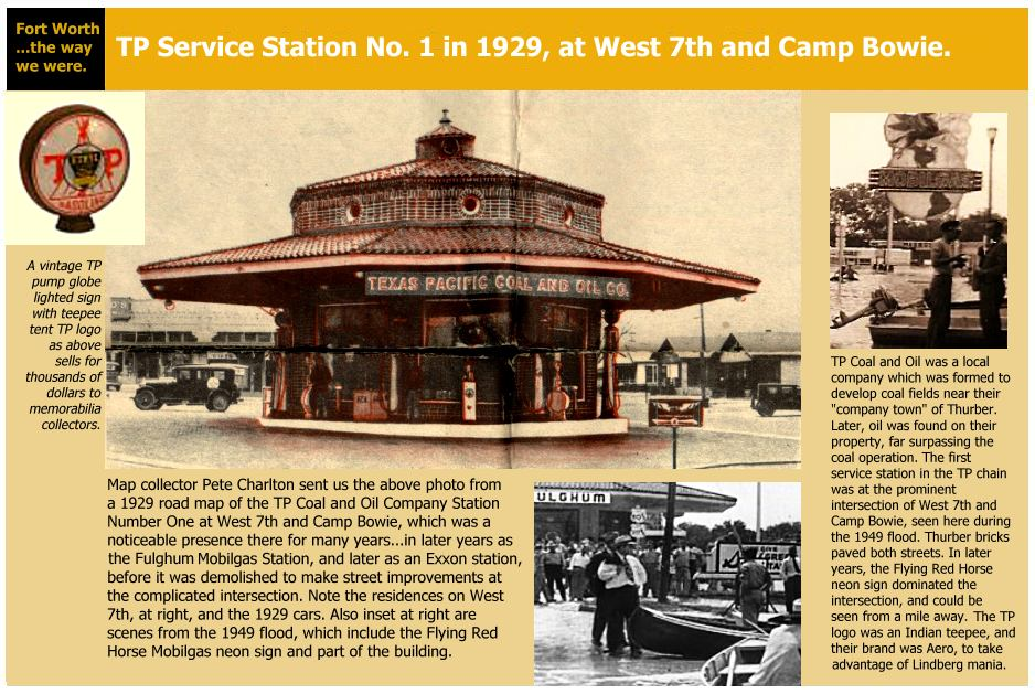 1920s gas station mystery photo tp service station no 1 for Texas motor speedway college station