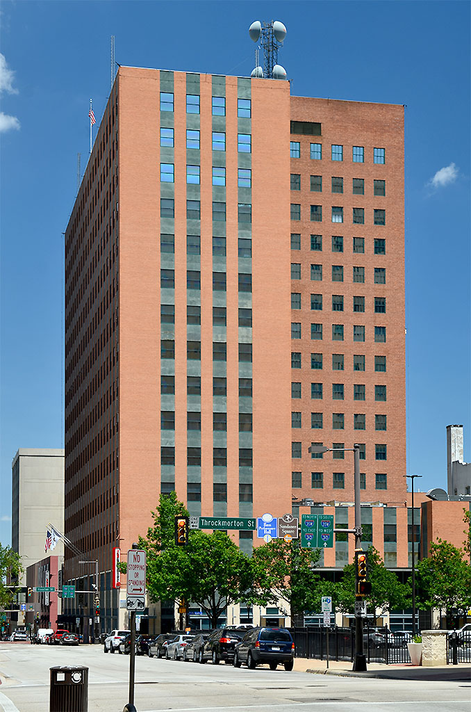 Oncor Building Architecture In Fort Worth