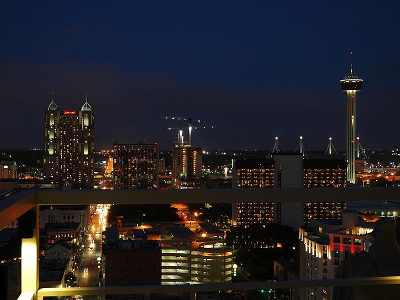 Downtown San Antonio In Photograph Houston Dallas