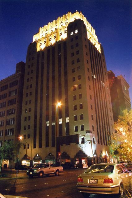 Sinclair Building Architecture In Downtown Fort Worth