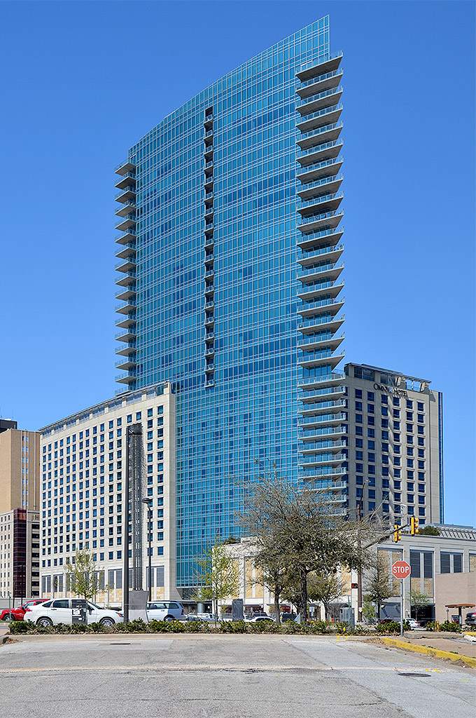 omni fort worth hotel architecture in fort worth. Black Bedroom Furniture Sets. Home Design Ideas